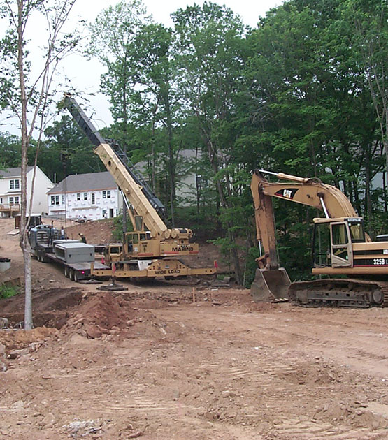 construction Laurel Ridge